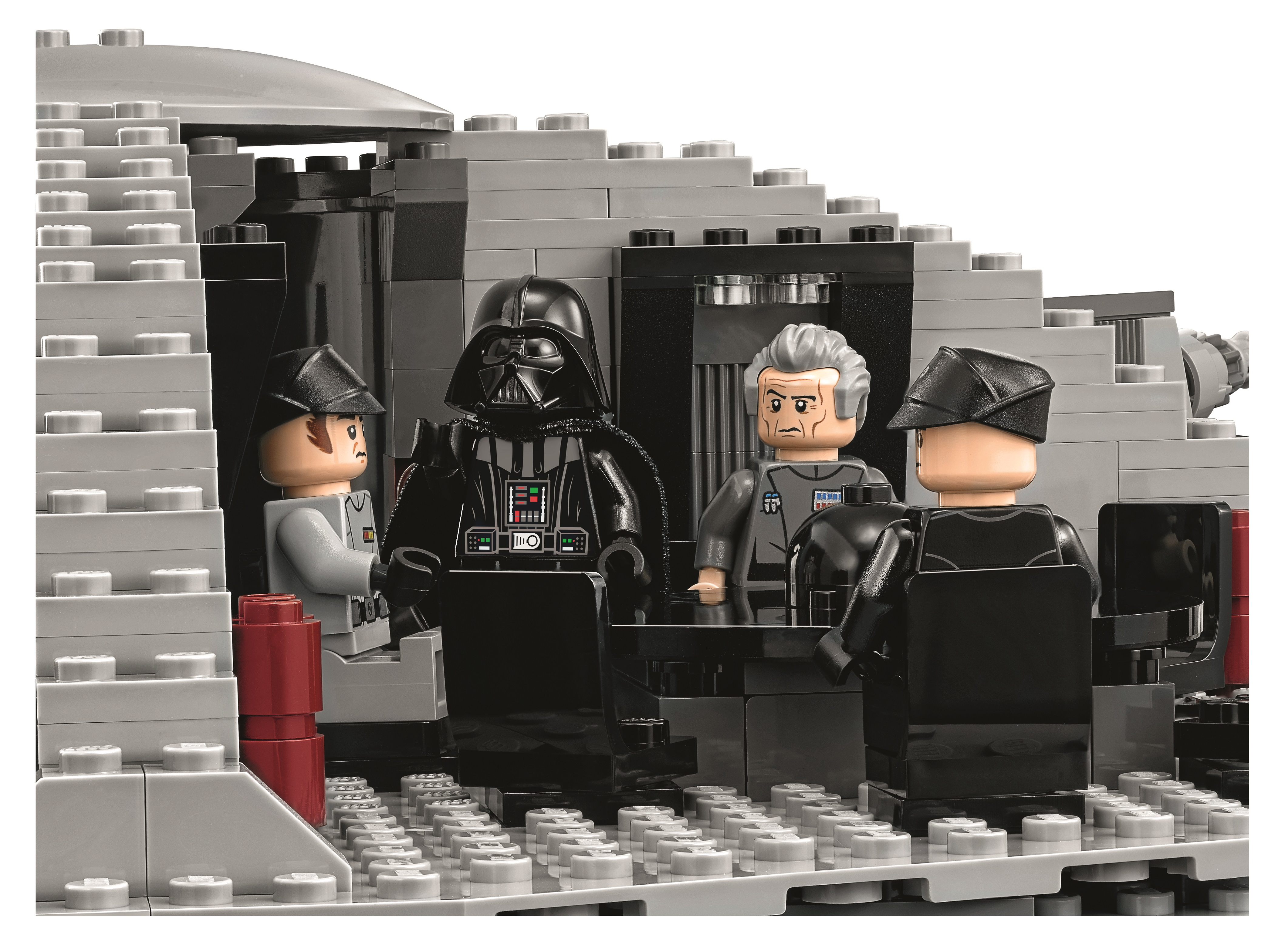 Display Case Frame for Lego Star Wars Death Star 75159 minifigures no figures