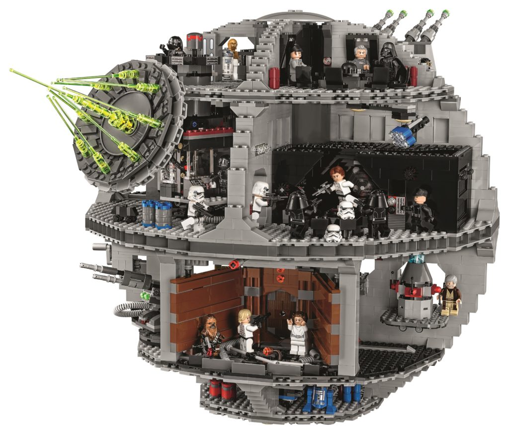 LEGO 75159 UCS Death Star - Front View