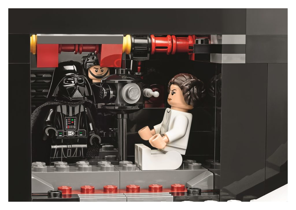 LEGO 75159 UCS Death Star - Leia Interrogation