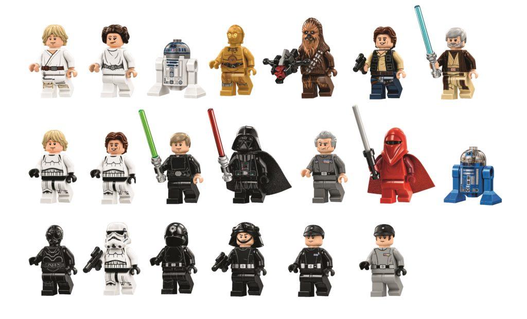 LEGO 75159 UCS Death Star - Minifigures