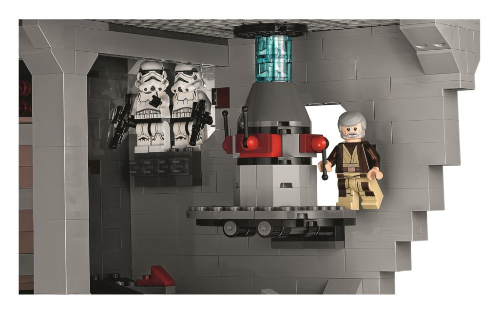LEGO 75159 UCS Death Star - Obi Wan Being Shady