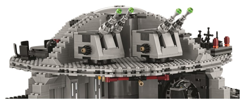 LEGO 75159 UCS Death Star - Turbolasers