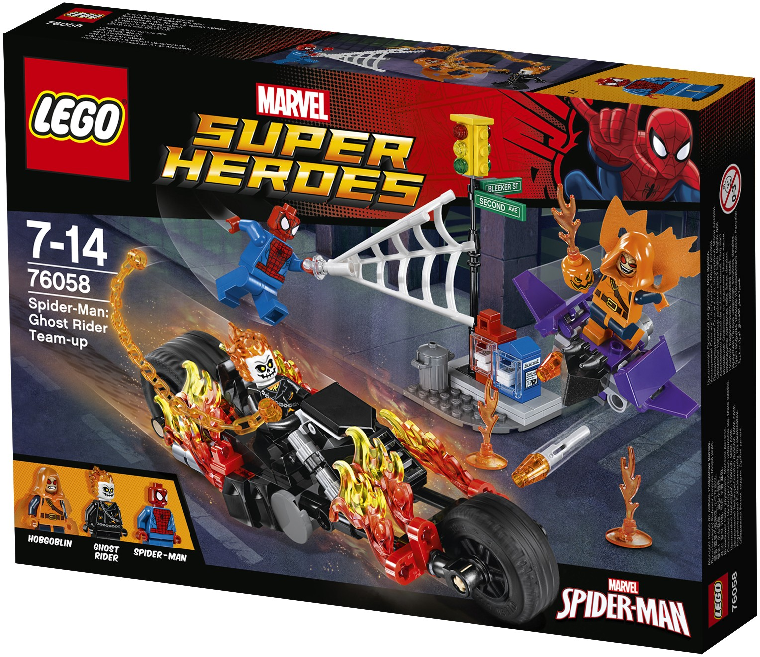 Review Lego 76058 Spider Man Ghost Rider Team Up Jays Brick Blog