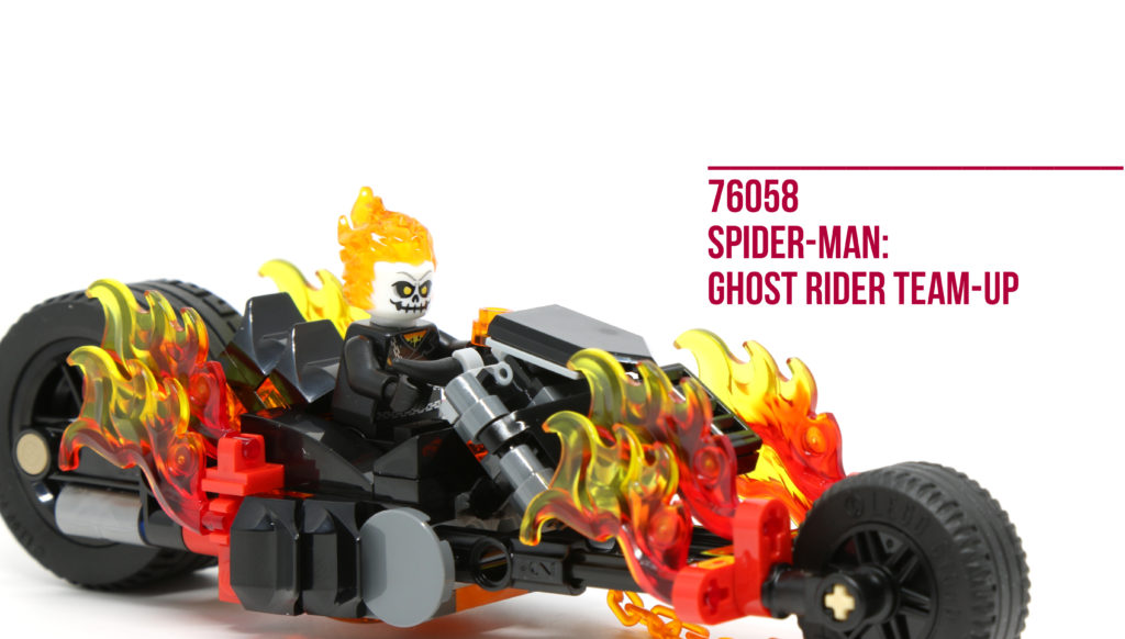 Review: LEGO 76058 Spider-Man: Ghost Rider Team-up