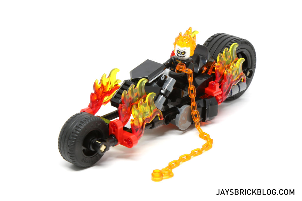 ghost rider lego video