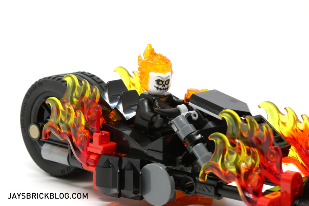LEGO 76058 Ghost Rider Team-Up - Ghost Rider Bike Flames