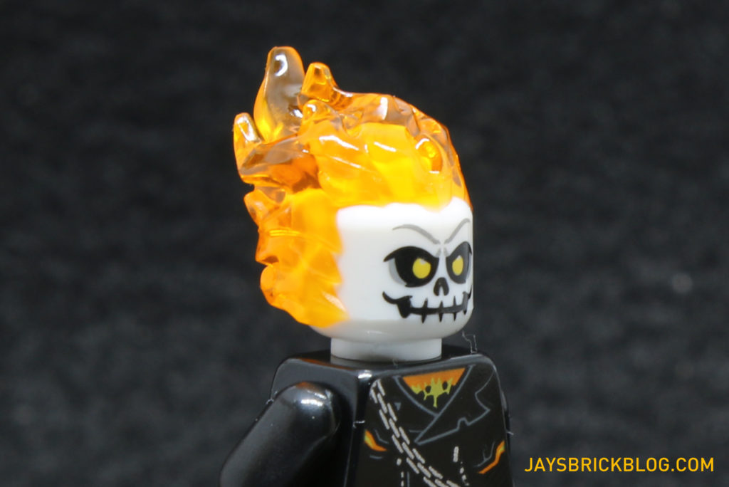 LEGO 76058 Ghost Rider Team-Up - Ghost Rider Minifig Head