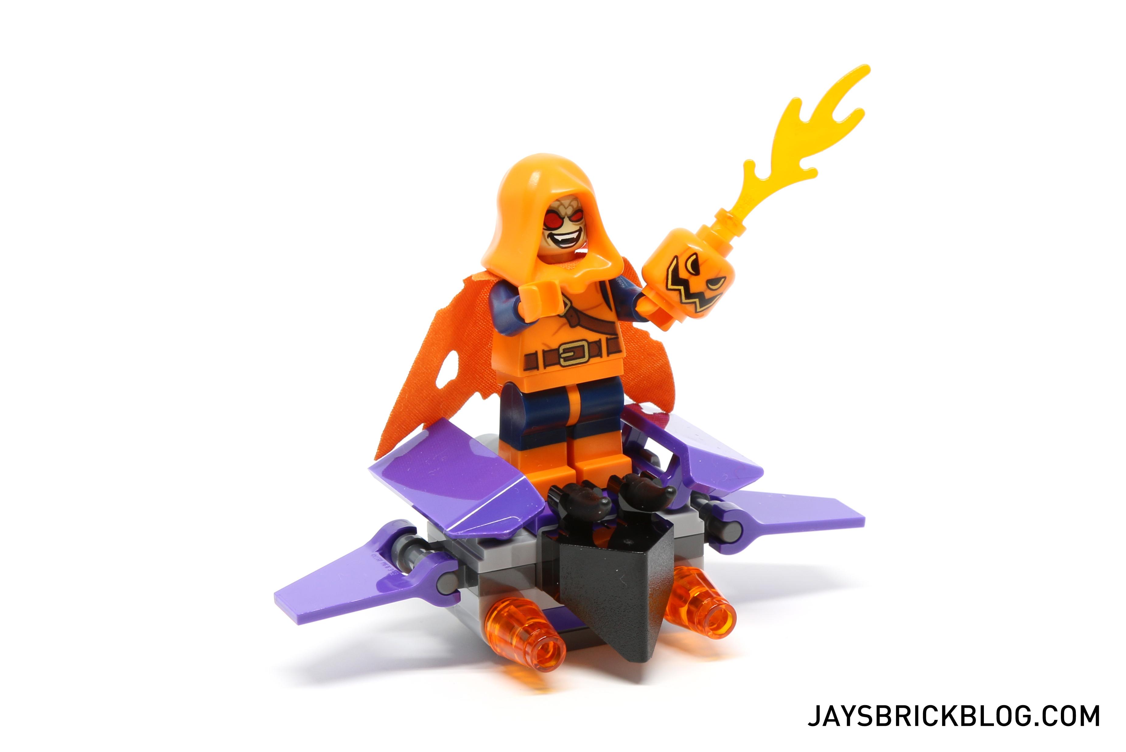 LEGO HOBGOBLIN MINIFIGURE SUPER HEROES FIG AUTHENTIC