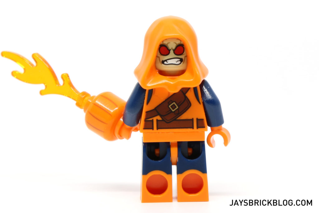 LEGO 76058 Ghost Rider Team-Up - Hobgoblin Minifigure Alternate Face