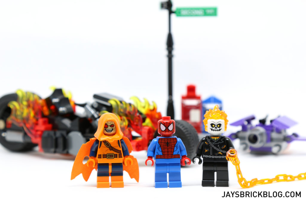 LEGO 76058 Ghost Rider Team-Up - Minifigures
