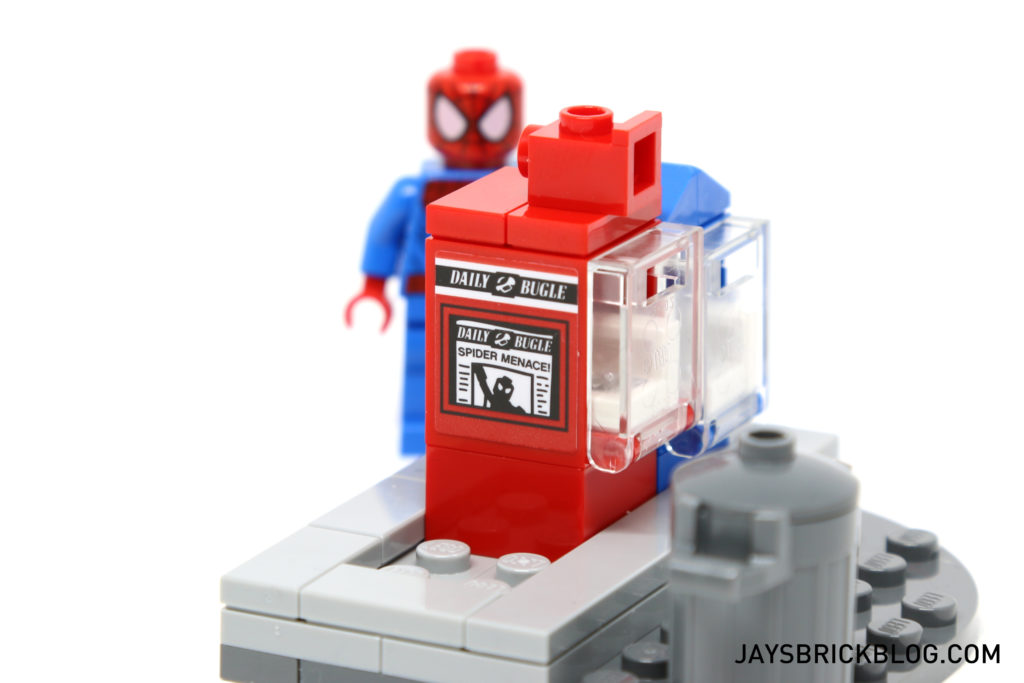 LEGO 76058 Ghost Rider Team-Up - Newspaper Daily Bugle