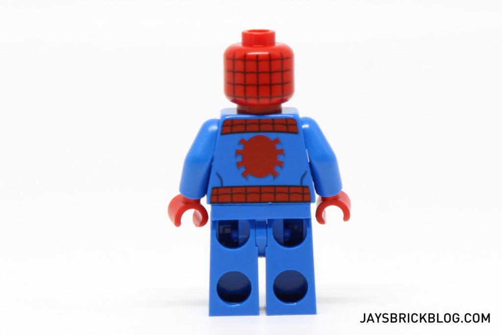 LEGO 76058 Ghost Rider Team-Up - Spider-Man Minifigure Back