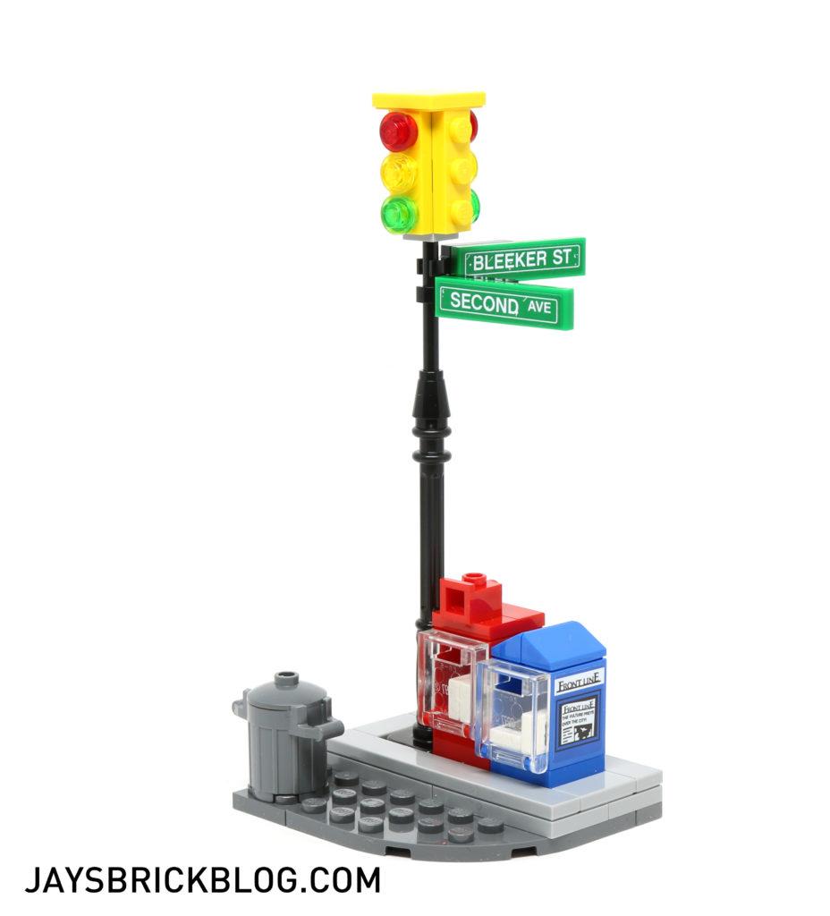 LEGO 76058 Ghost Rider Team-Up - Street Corner
