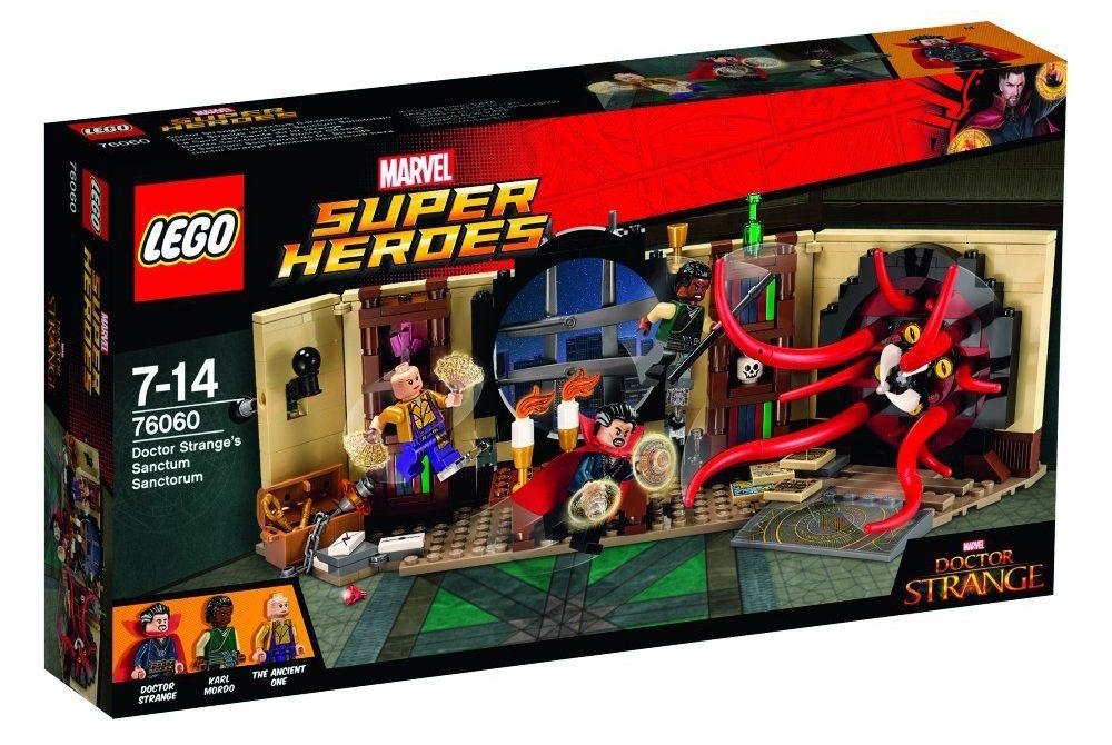 LEGO 76060 Doctor Stranfe's Sanctum Sanctorum Box