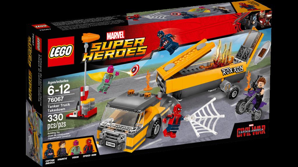 LEGO 76067 Tanker Truck Takedown Box