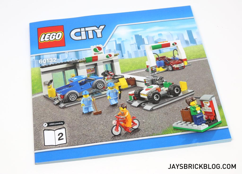 LEGO 60132 Service Station - Alternate Build Instructions