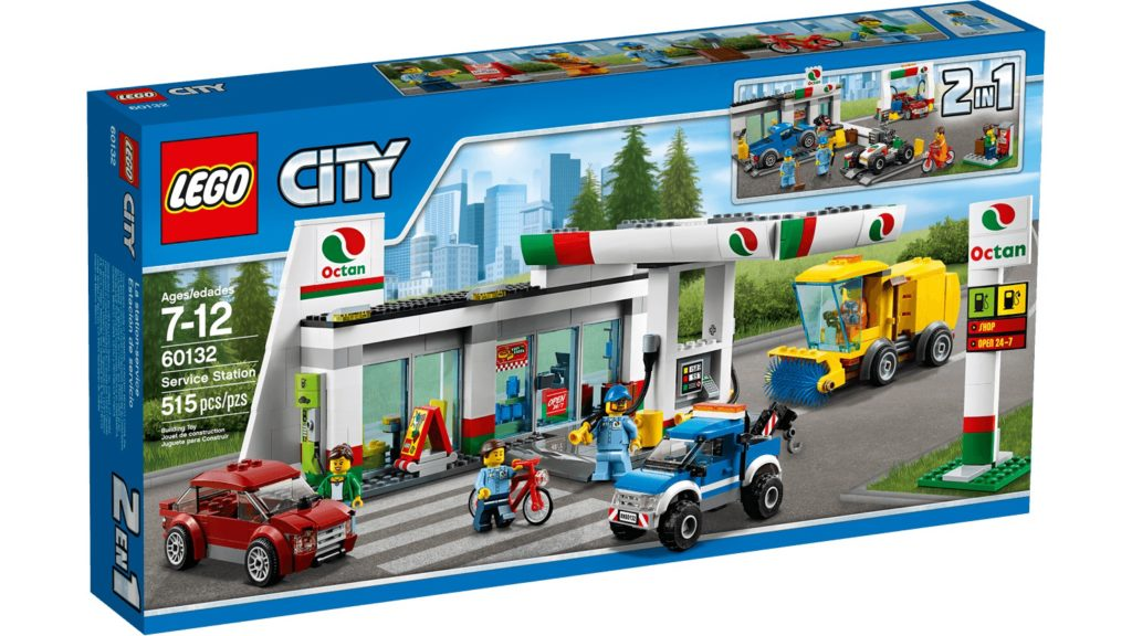 LEGO 60132 Service Station - Box