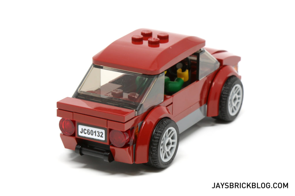 LEGO 60132 Service Station - Dark Red Card Back