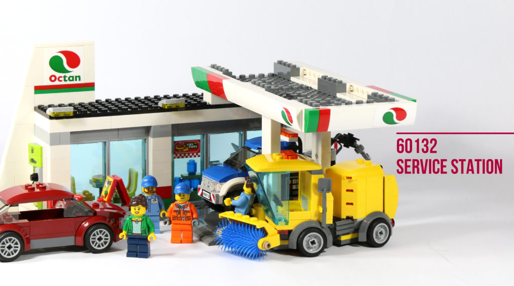 Review: LEGO 60132 Service Station
