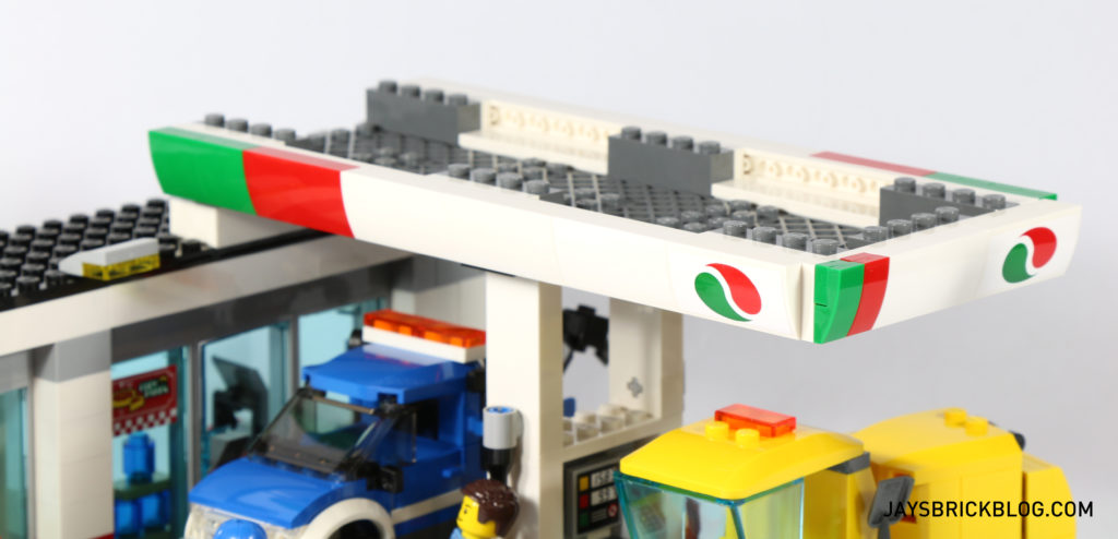 LEGO 60132 Service Station - Roof