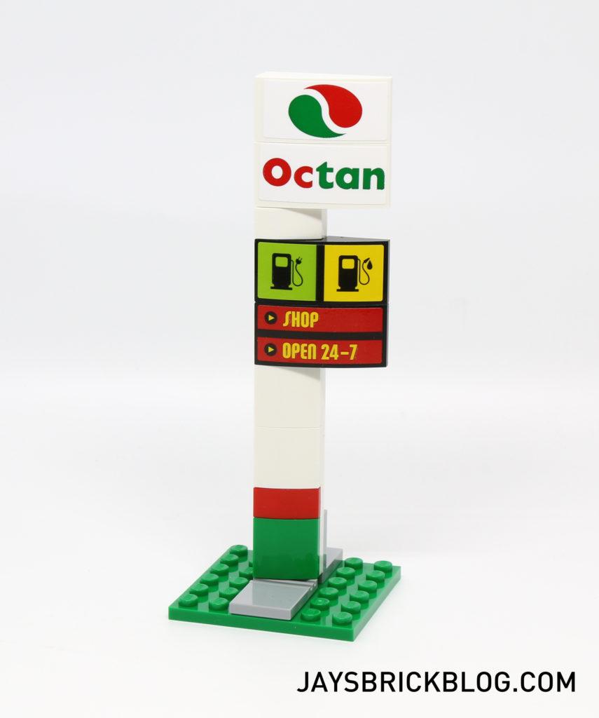 LEGO 60132 Service Station - Signboard