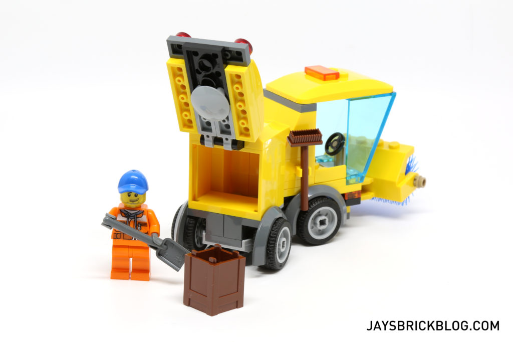 LEGO 60132 Service Station - Street Sweeper Crate