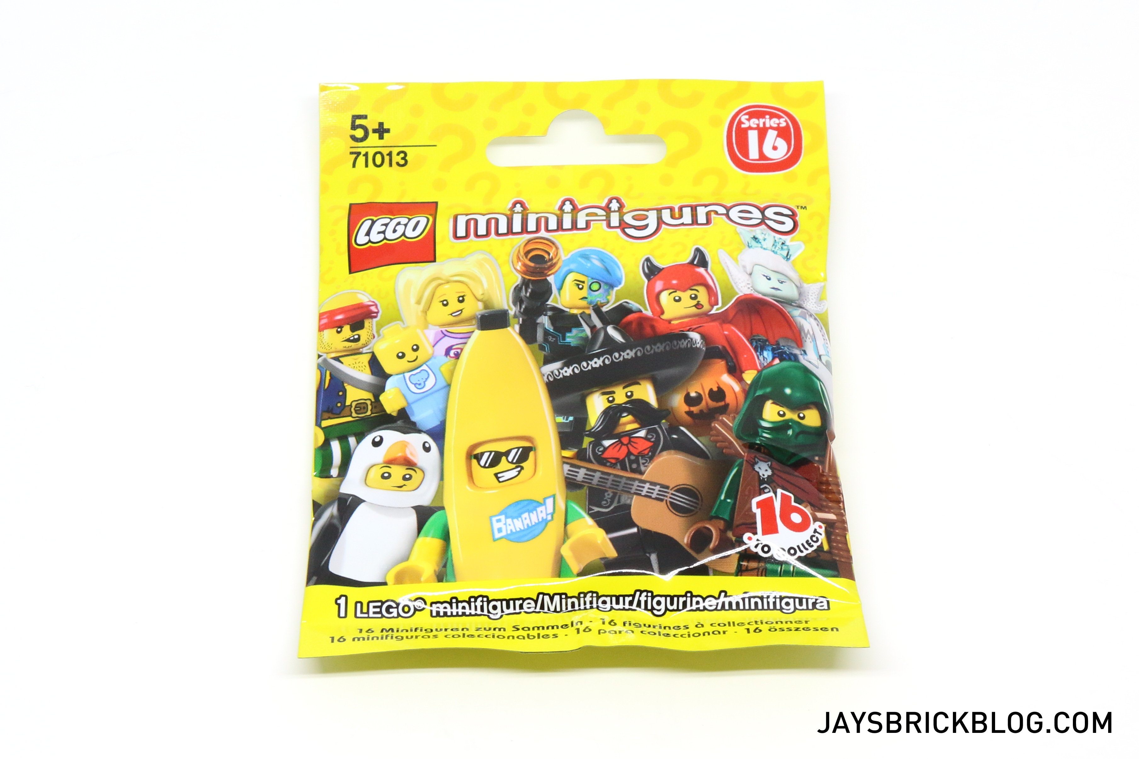 Review Lego Minifigures Series 16 Jay S Brick Blog