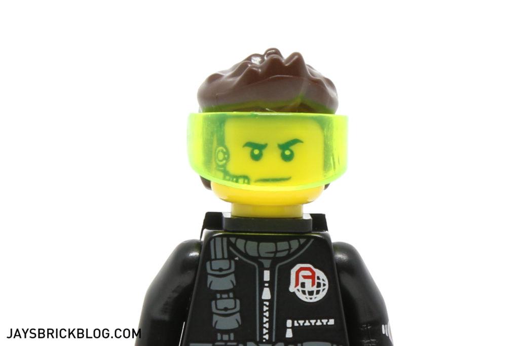 LEGO NEW DUAL SIDED FEMALE MINIFIGURE GIRL HEAD WITH VISOR