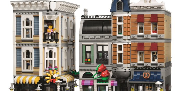 The 4,002 piece LEGO 10255 Assembly Square is a 10 year celebration of modular buildings