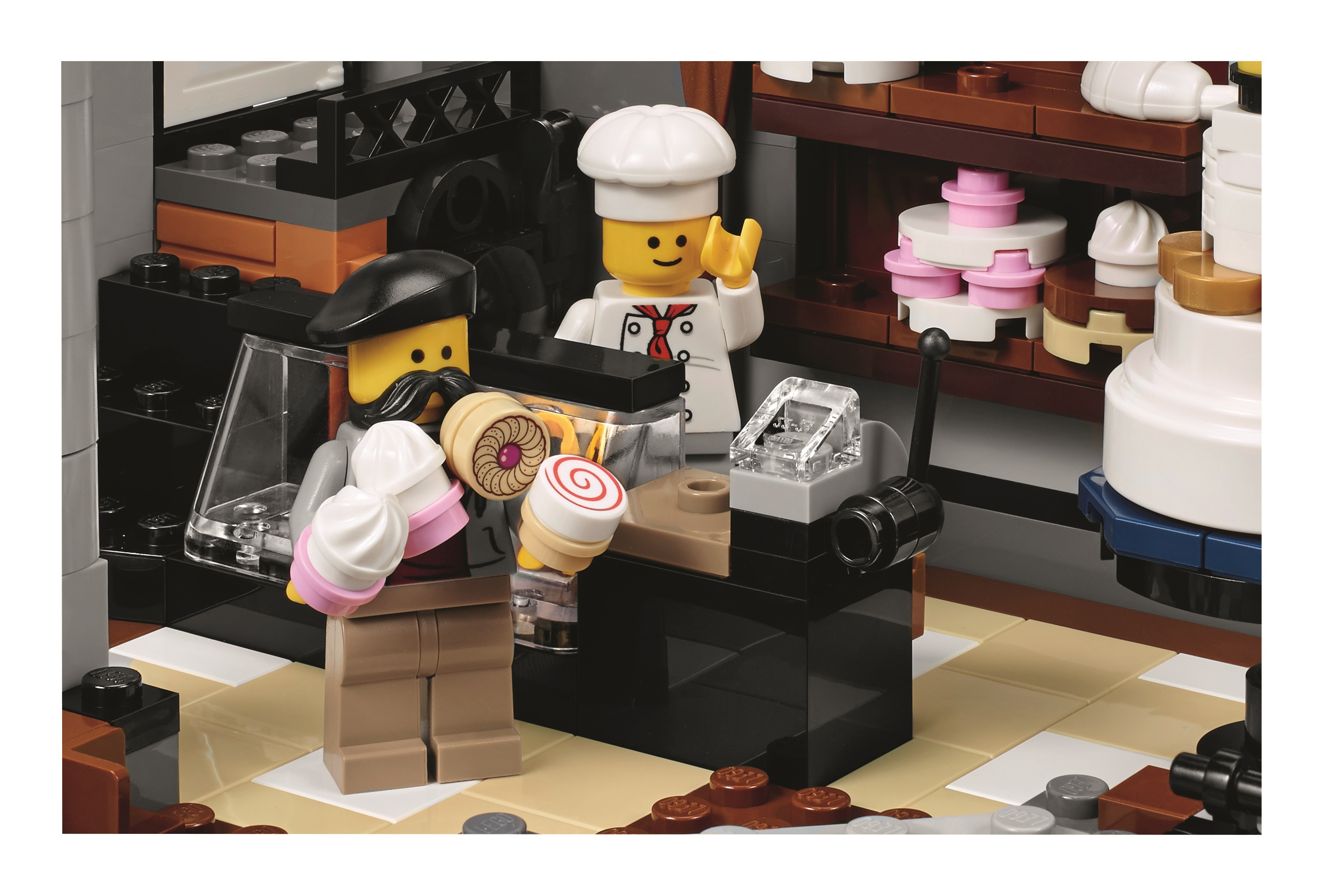 The 4 002 Piece Lego 10255 Assembly Square Is A 10 Year