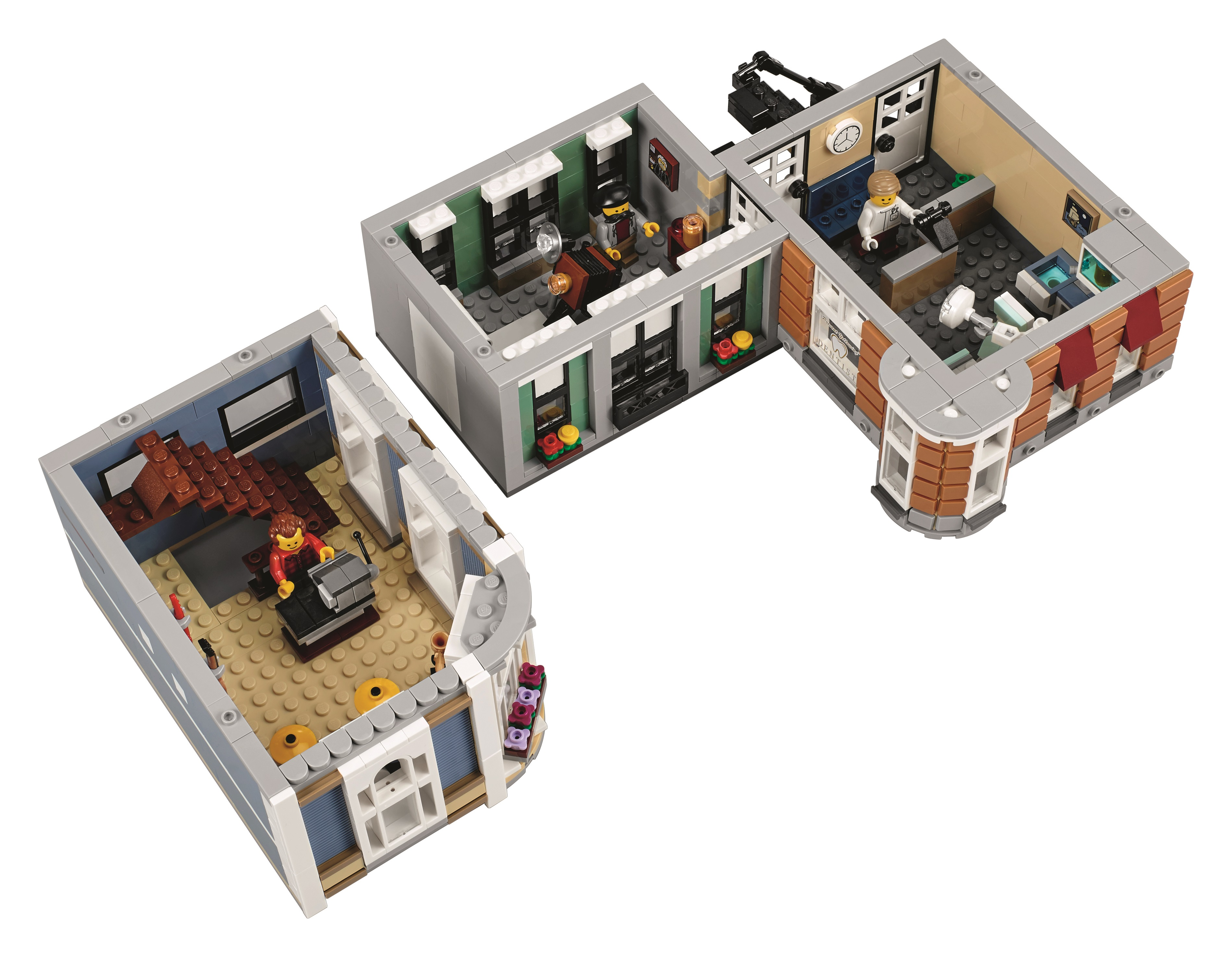 The 4,002 piece LEGO 10255 Assembly Square is a 10 year celebration ...