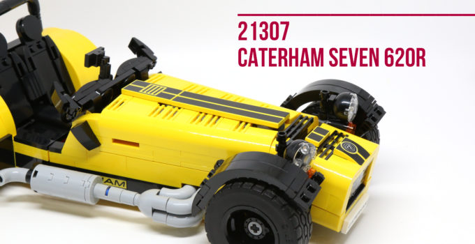 Review: LEGO 21307 Caterham Seven 620R