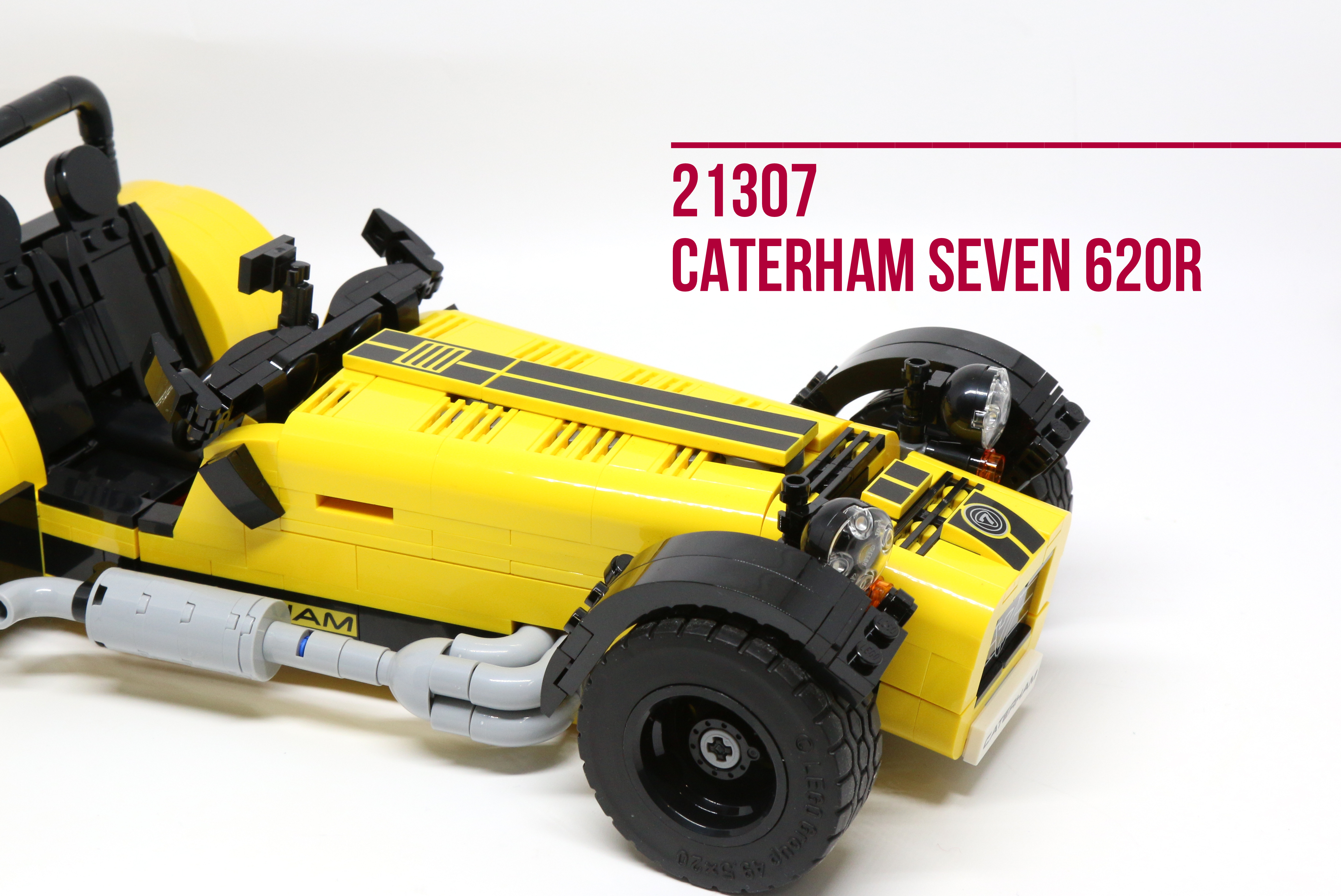 review lego 21307 caterham seven 620r. Black Bedroom Furniture Sets. Home Design Ideas