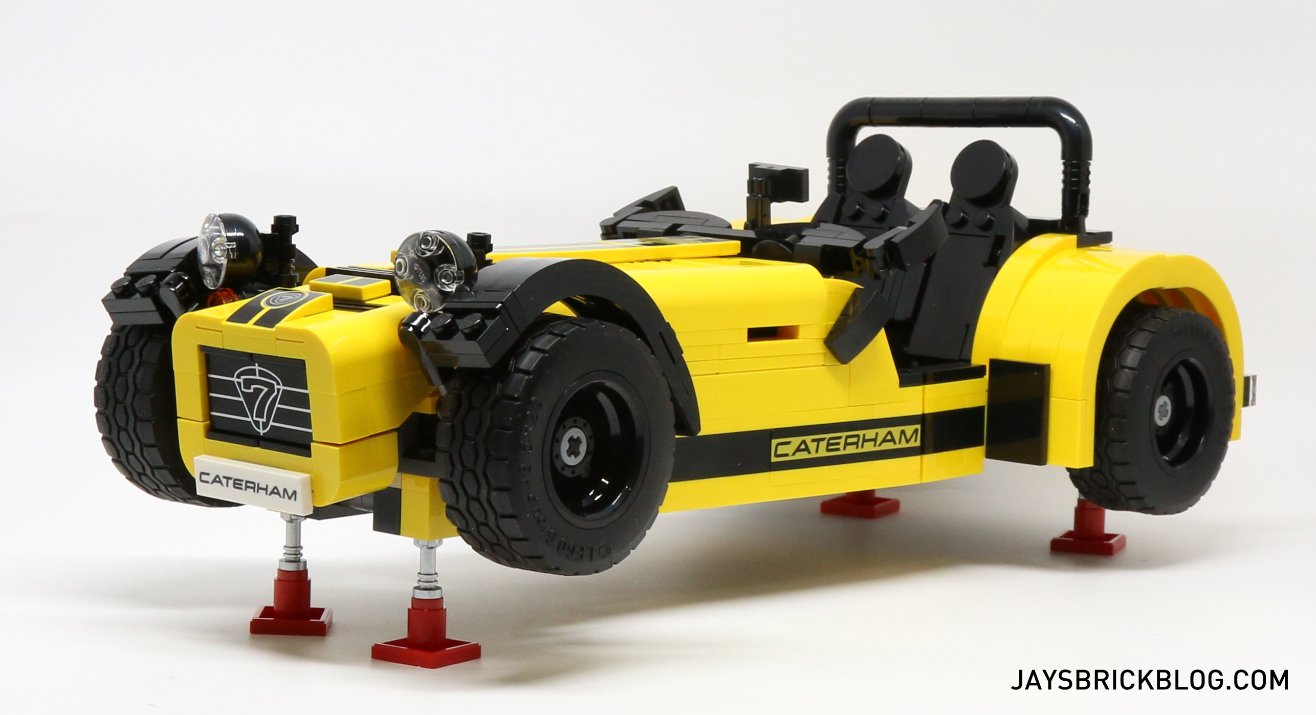 review lego 21307 caterham seven 620r. Black Bedroom Furniture Sets. Home Design Ideas