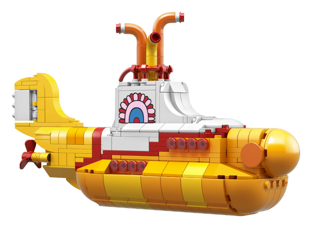 Lego introduces beatles yellow submarine set time com lego introduced