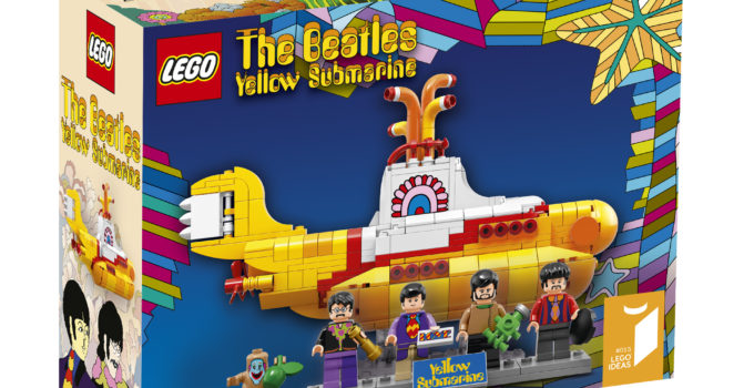 LEGO Ideas unveils the first The Beatles set, 21306 Yellow Submarine