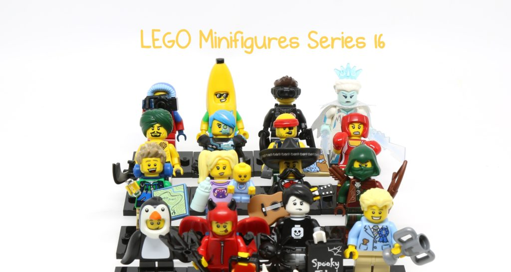 Review: LEGO Minifigures Series 16