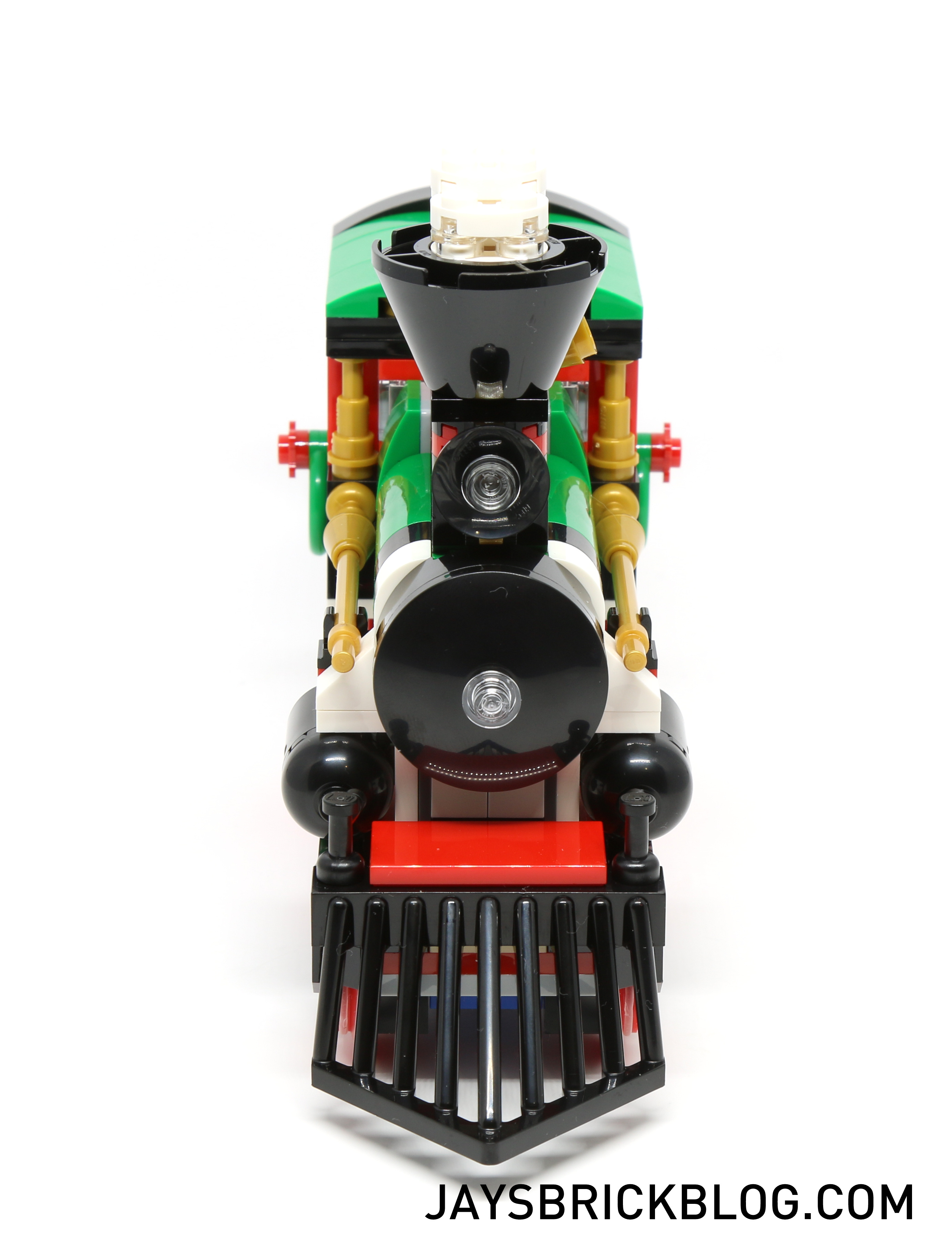 how to build a lego train
