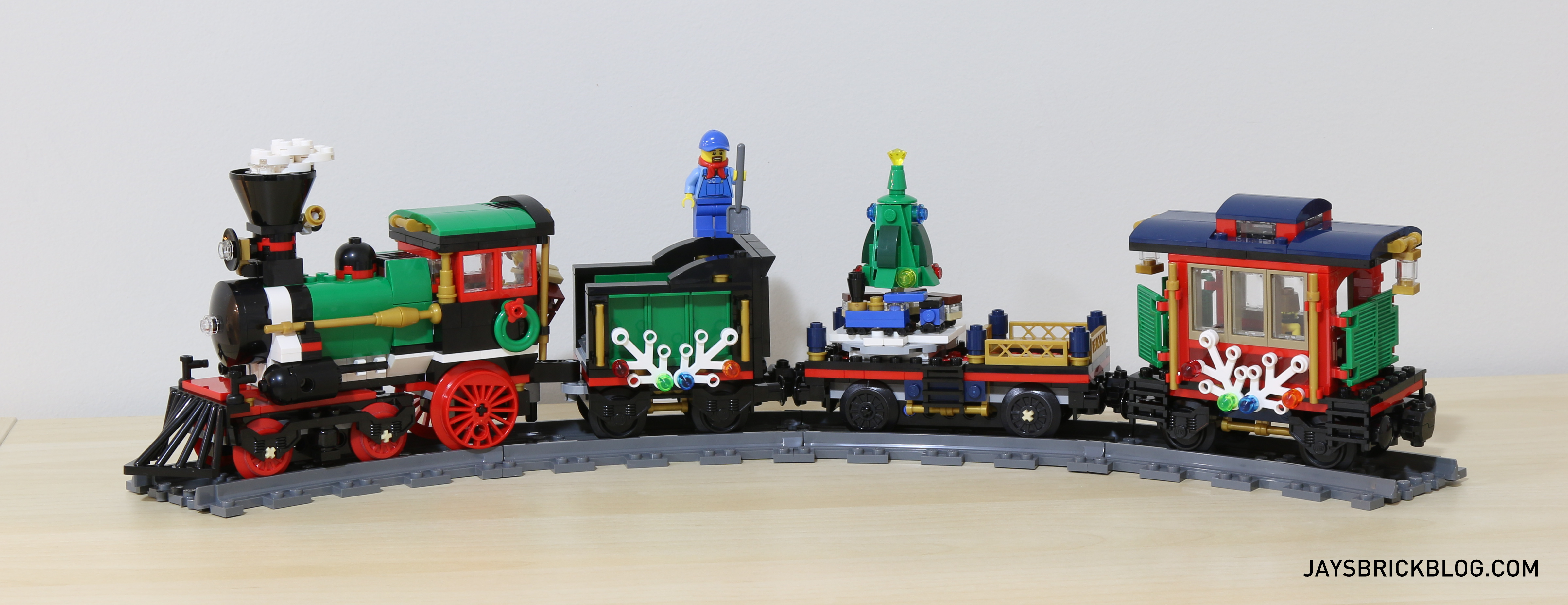 The winter christmas train isn t without its flaws yet when it s