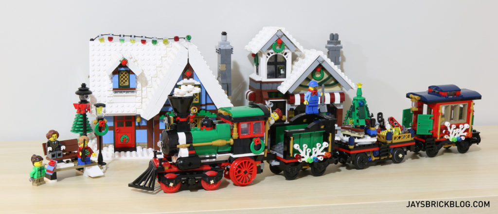 Review: LEGO 10254 Winter Holiday Train