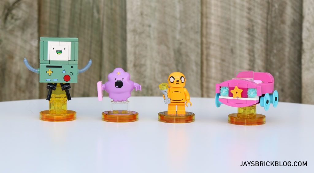 Review: 71246 LEGO Dimensions Adventure Time Team Pack