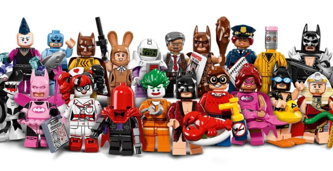 Here are all 20 minifigs from The LEGO Batman Movie Minifigure Series