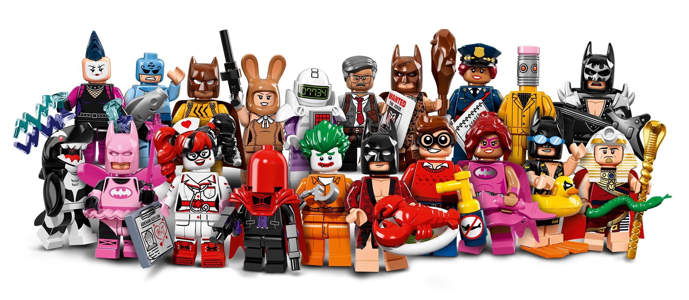 Lego Batman Movie Red Hood Minifigure Series 1