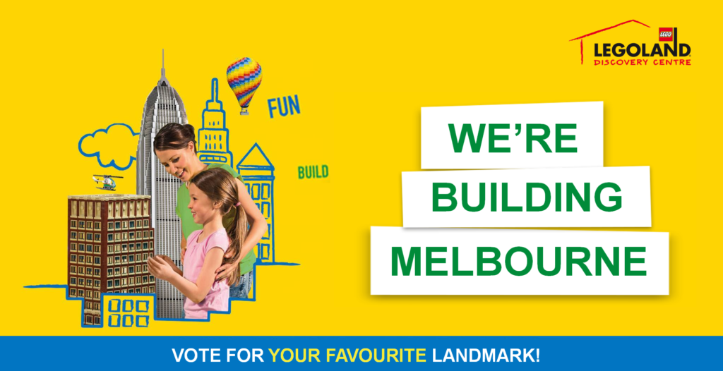 Legoland Discovery Centre Melbourne wants your vote to build Melbourne
