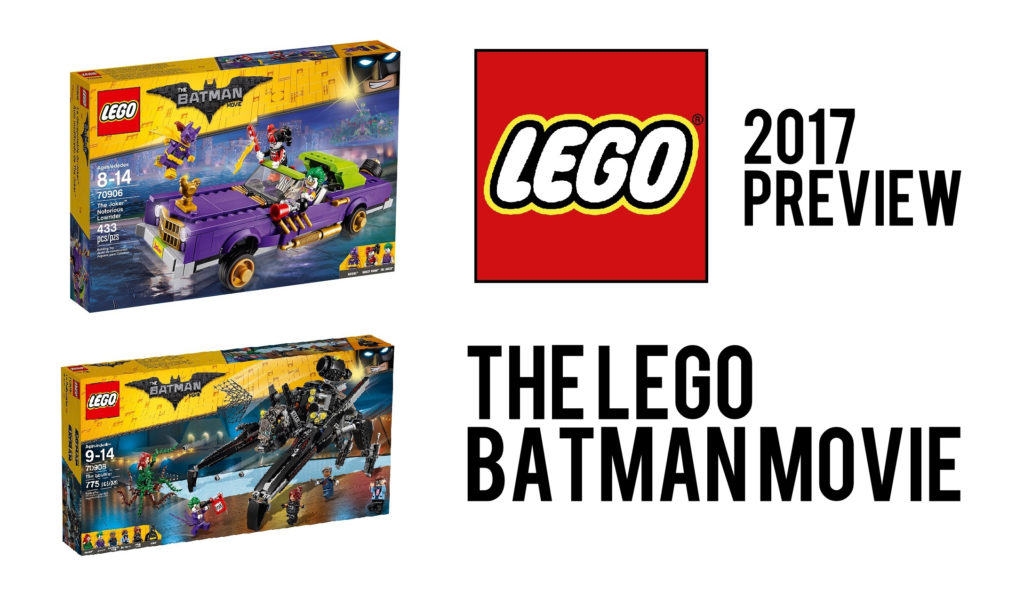 LEGO 2017 Preview – The LEGO Batman Movie sets