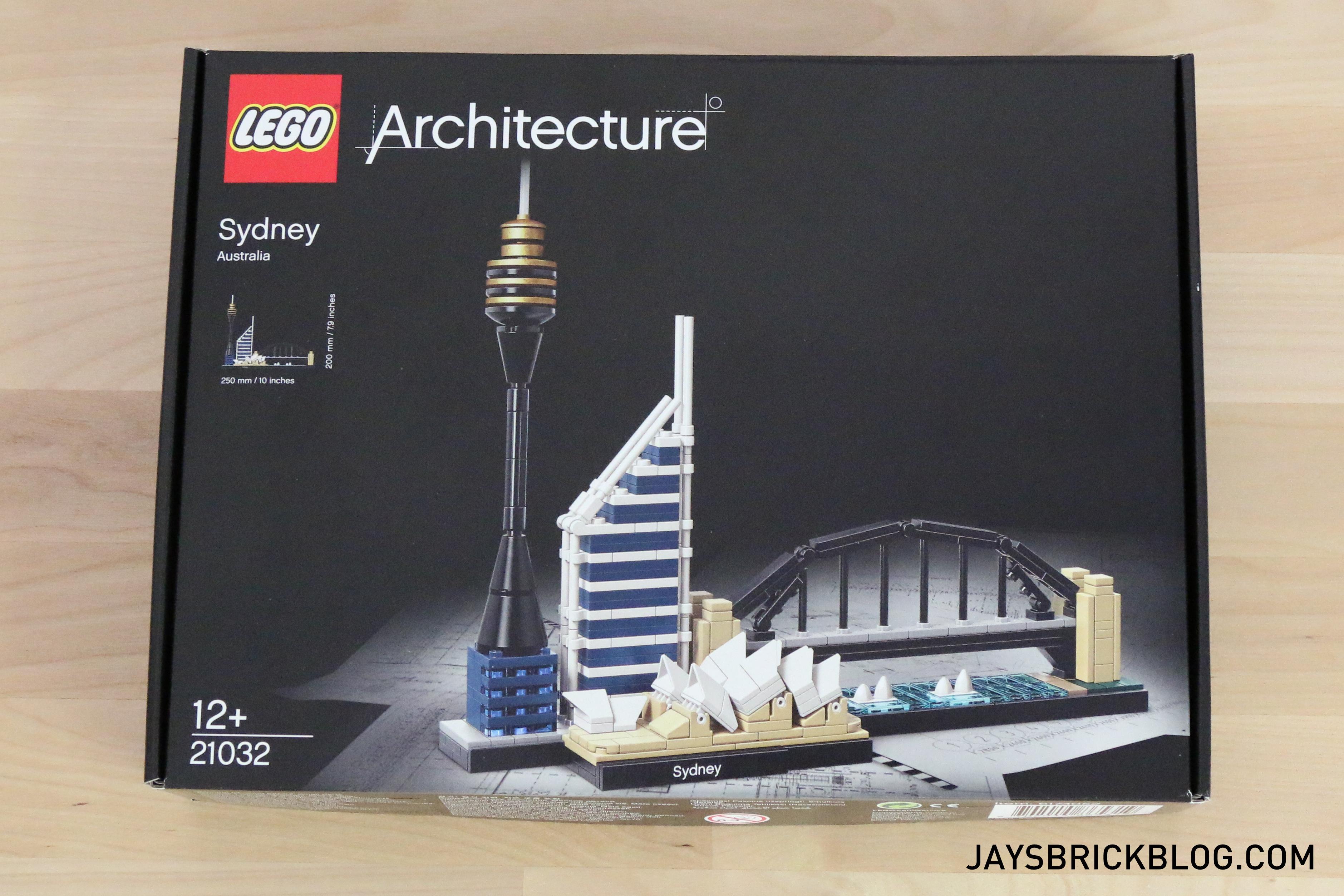 Review LEGO 21032 Sydney Skyline