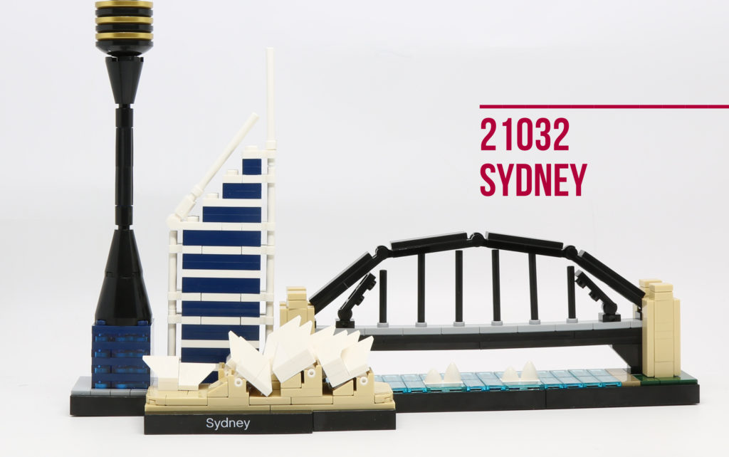 Review: LEGO 21032 Sydney Skyline