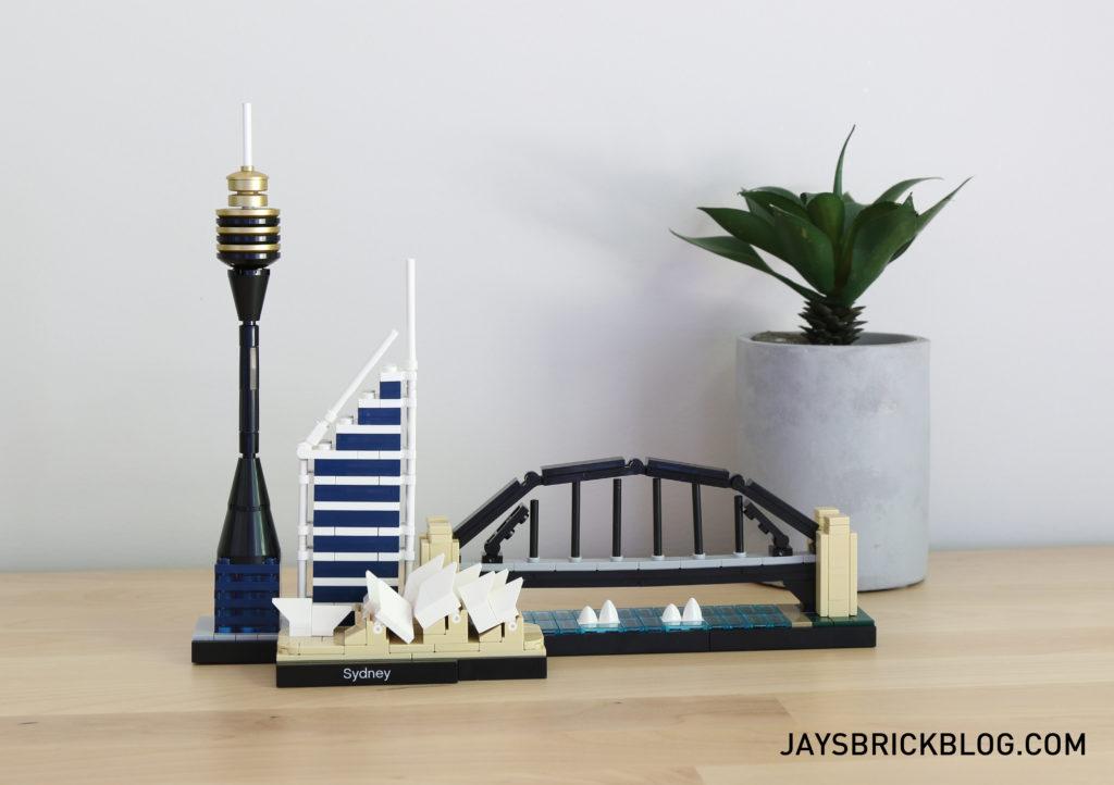 LEGO 21032 Sydney Skyline Architecture