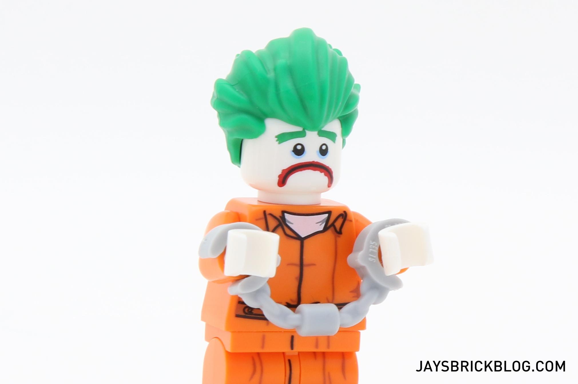 LEGO Batman Movie The Joker ARKHAM ASYLUM Minifigure From 70912