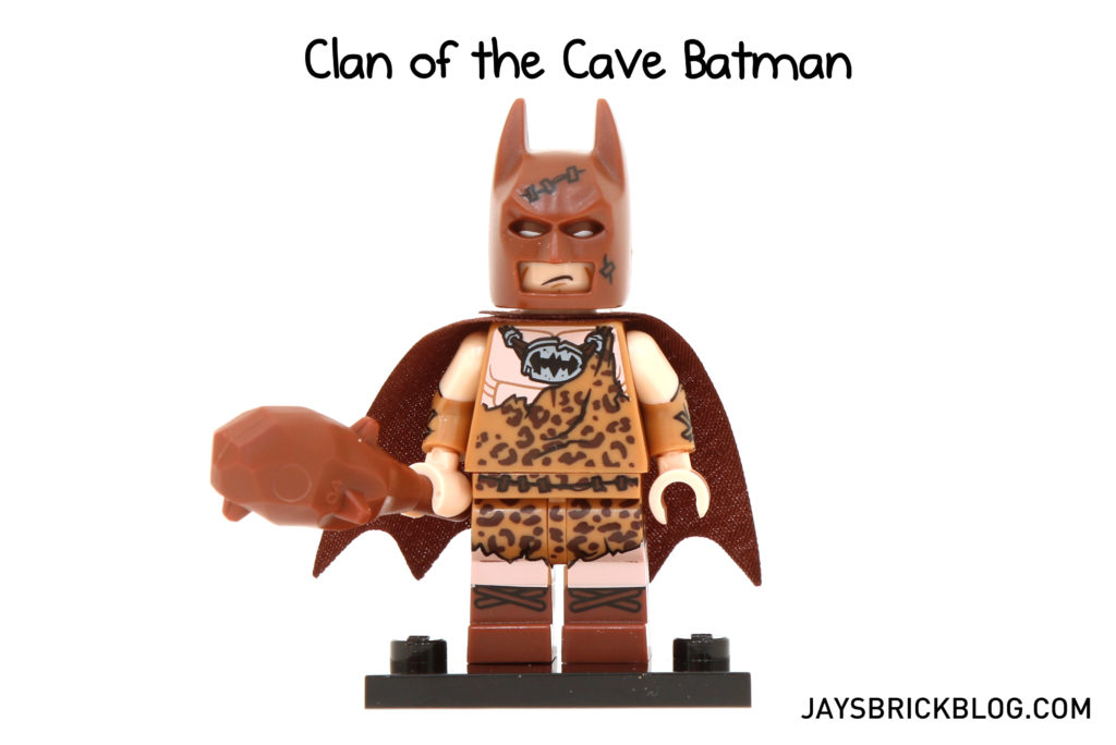 LEGO BATMAN MOVIE SERIES CAVEMAN WITH BIG CLUB MINIFIGURE